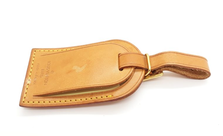 Louis Vuitton Kofferanhänger Leder-13431