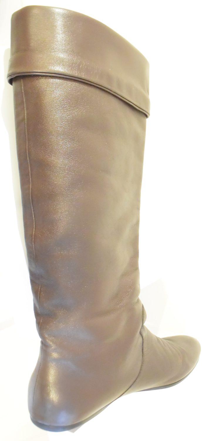 Gucci Stiefel braun Leder 38 -13401