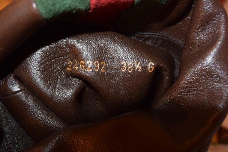 Gucci Stiefel braun Leder 38 -13413