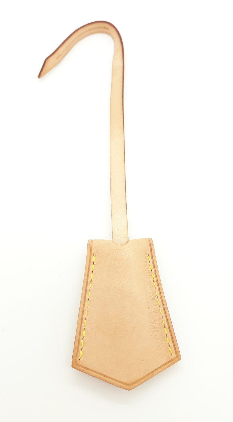 Louis Vuitton Schlüsselglocke VVN Leder beige-13508