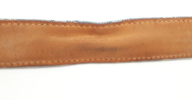 Louis Vuitton Gürtel Denim blau 100cm-13468