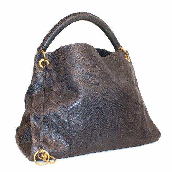 Louis Vuitton Tasche Artsy MM Python Leder
