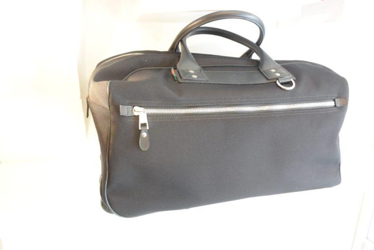 Gucci Reisetasche Trolley Koffer schwarz-13470