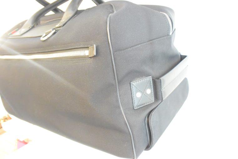Gucci Reisetasche Trolley Koffer schwarz-13474