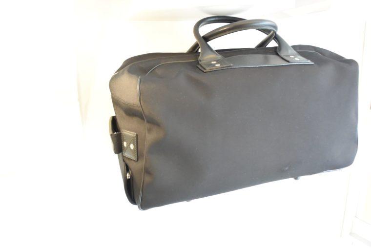 Gucci Reisetasche Trolley Koffer schwarz-13473