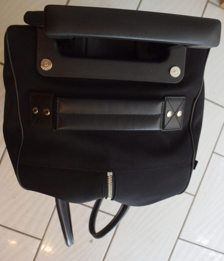 Gucci Reisetasche Trolley Koffer schwarz-13480