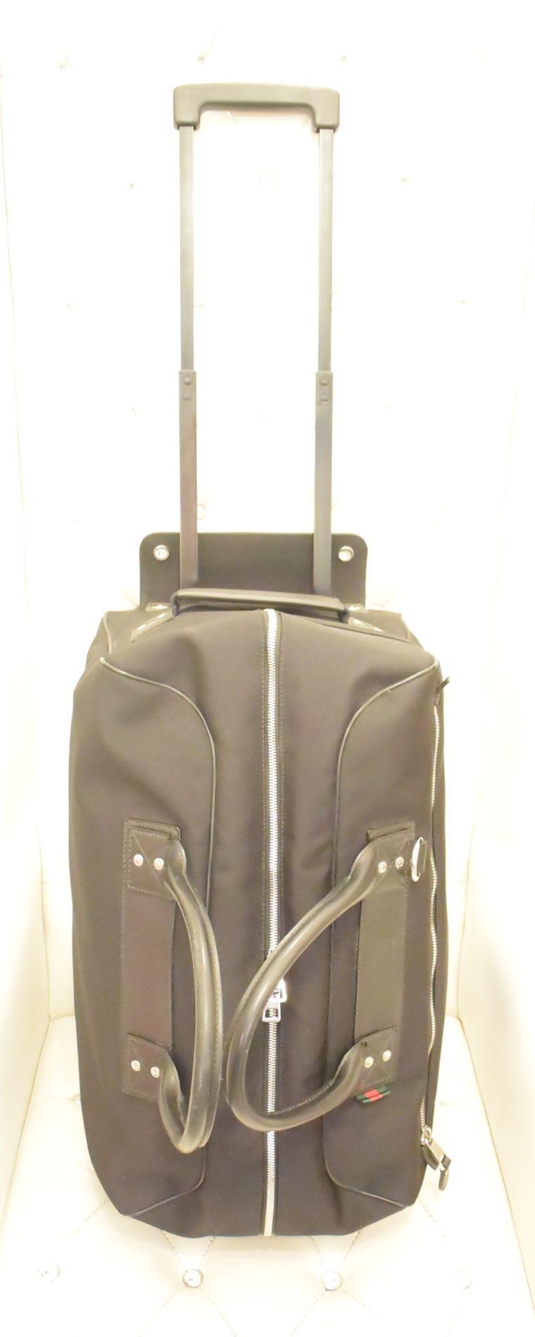 Gucci Reisetasche Trolley Koffer schwarz-0