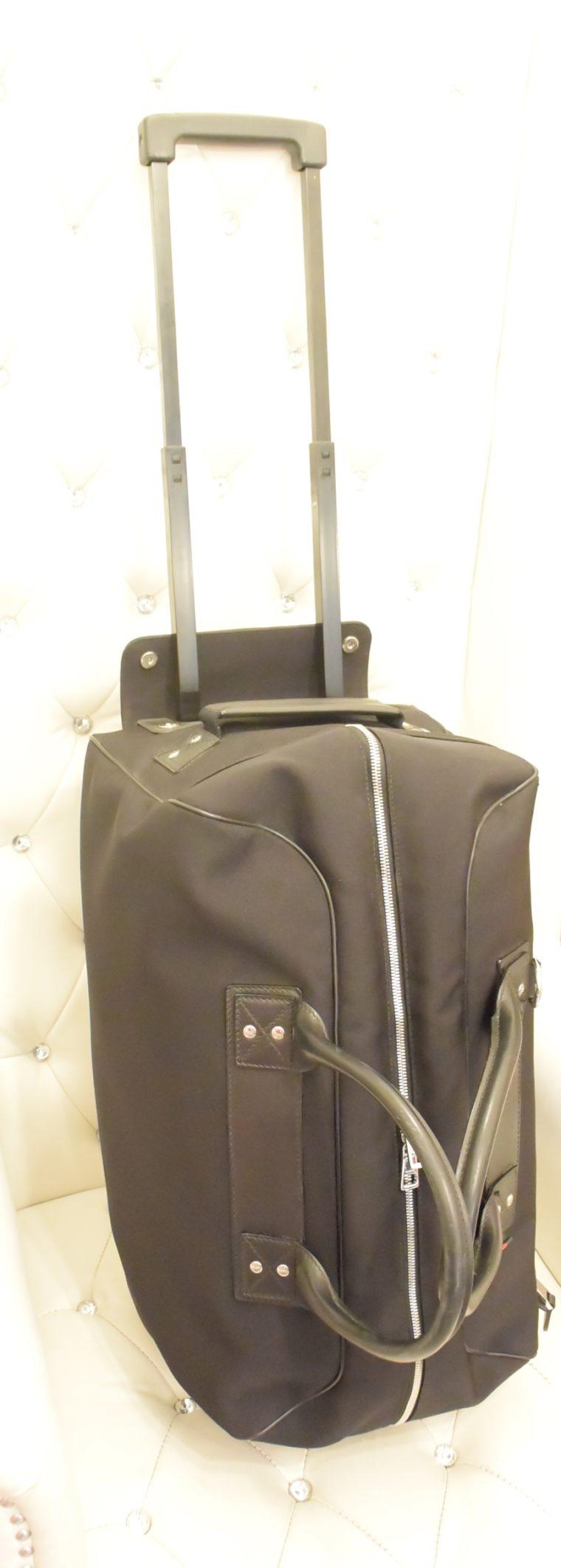 Gucci Reisetasche Trolley Koffer schwarz-13485
