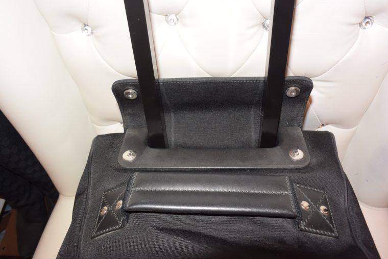 Gucci Reisetasche Trolley Koffer schwarz-13488