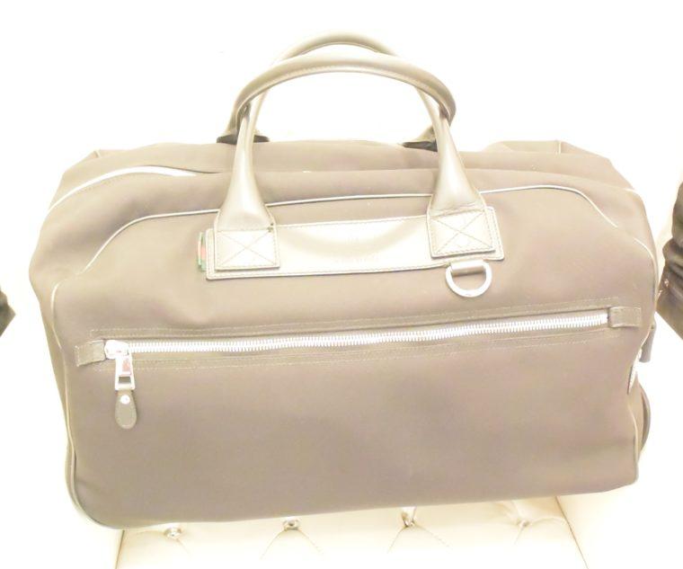 Gucci Reisetasche Trolley Koffer schwarz-13486