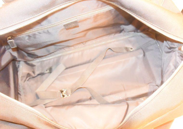 Gucci Reisetasche Trolley Koffer schwarz-13489