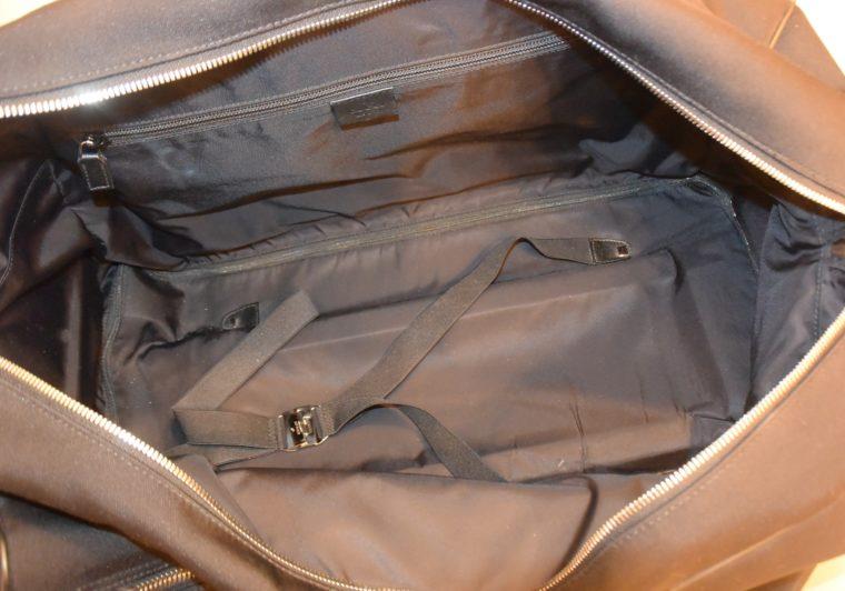 Gucci Reisetasche Trolley Koffer schwarz-13490