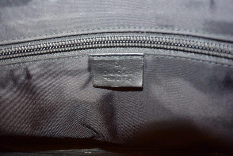 Gucci Reisetasche Trolley Koffer schwarz-13492
