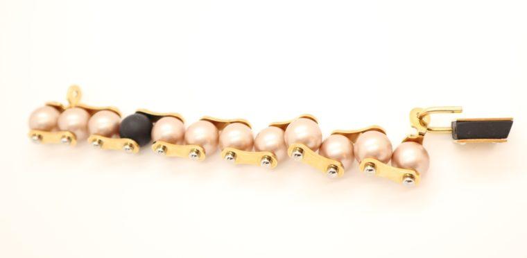 Louis Vuitton Armband Perlen gold-13642