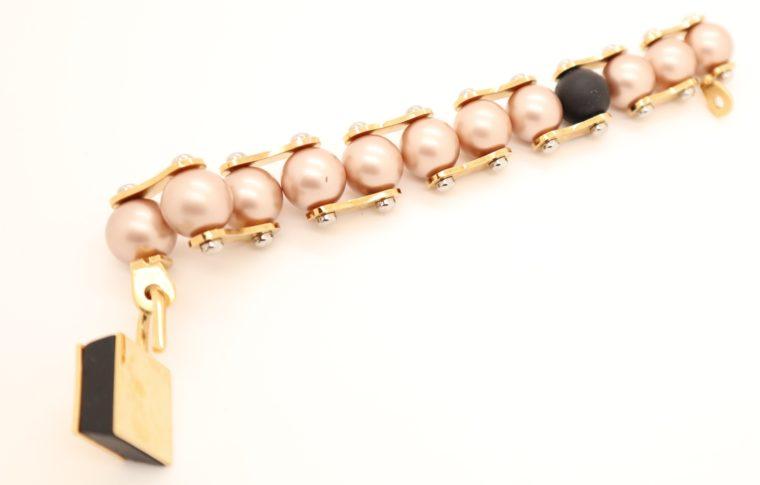 Louis Vuitton Armband Perlen gold-13643