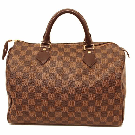 Louis Vuitton Tasche Speedy 30 band. Damier ebene