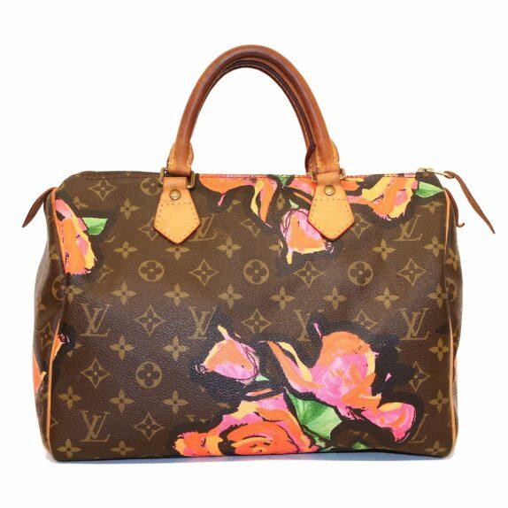 Louis Vuitton Tasche Speedy 30 Monogram Roses