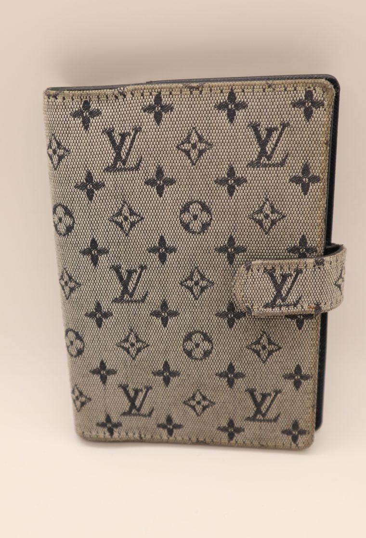Louis Vuitton Kalender Agenda Pm Mini Lin grau-13675