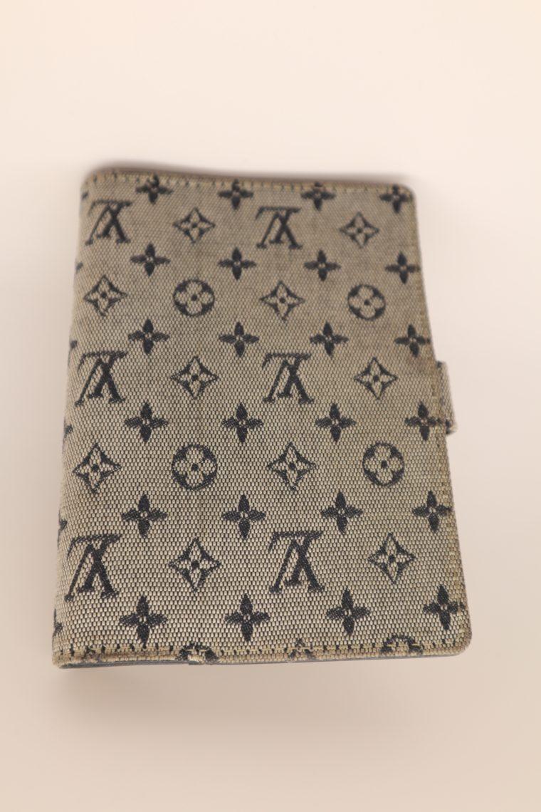 Louis Vuitton Kalender Agenda Pm Mini Lin grau-13678