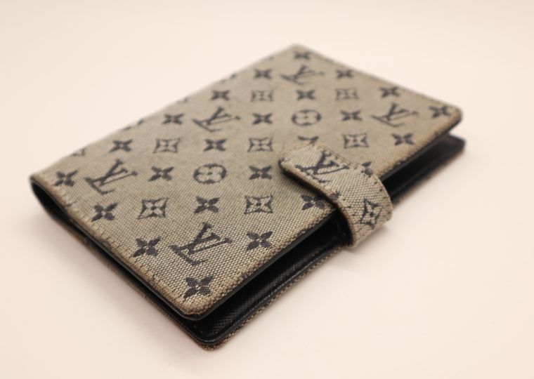 Louis Vuitton Kalender Agenda Pm Mini Lin grau-13676