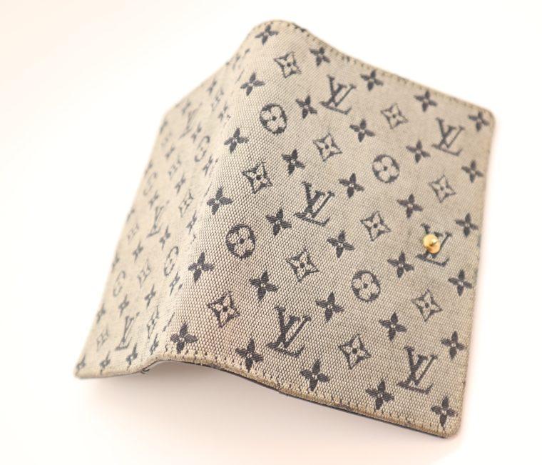 Louis Vuitton Kalender Agenda Pm Mini Lin grau-13682