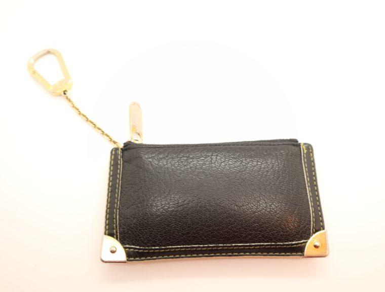 Louis Vuitton Schlüsseletui Suhali Leder schwarz-13828