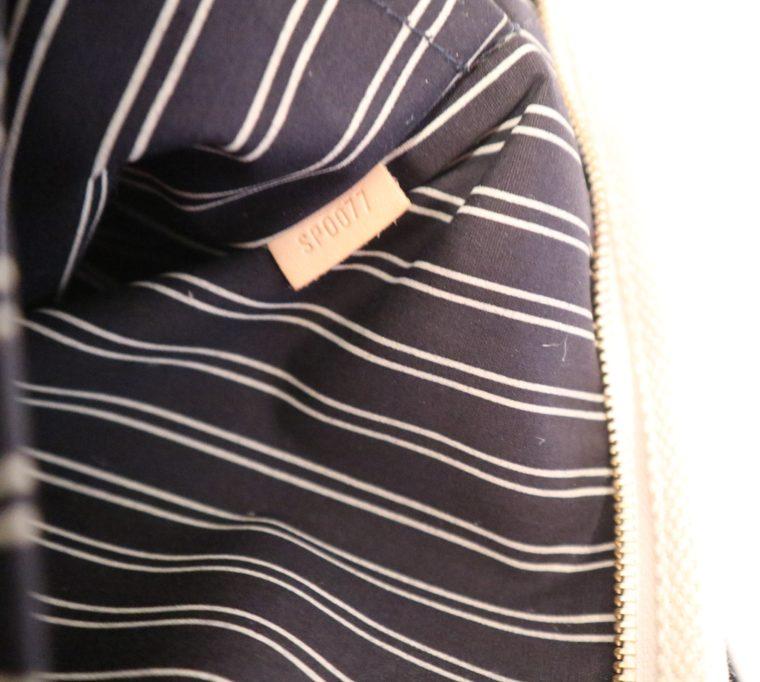 Louis Vuitton Tasche Cabas MM Toile Antigua blau weiß-13846