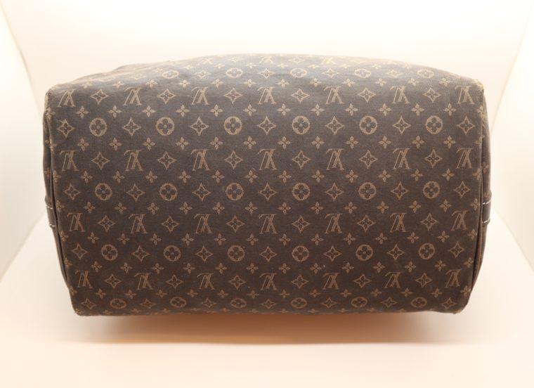 Louis Vuitton Tasche Speedy 30 band. Mini Lin schwarz-13854