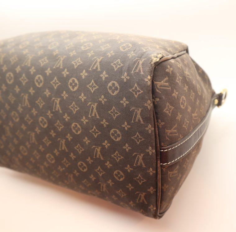 Louis Vuitton Tasche Speedy 30 band. Mini Lin schwarz-13857