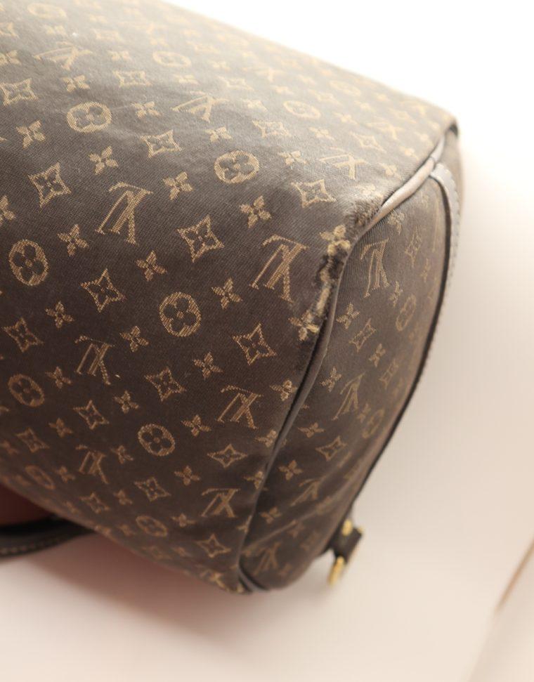 Louis Vuitton Tasche Speedy 30 band. Mini Lin schwarz-13856