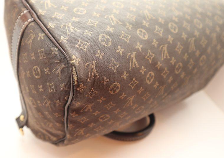 Louis Vuitton Tasche Speedy 30 band. Mini Lin schwarz-13858