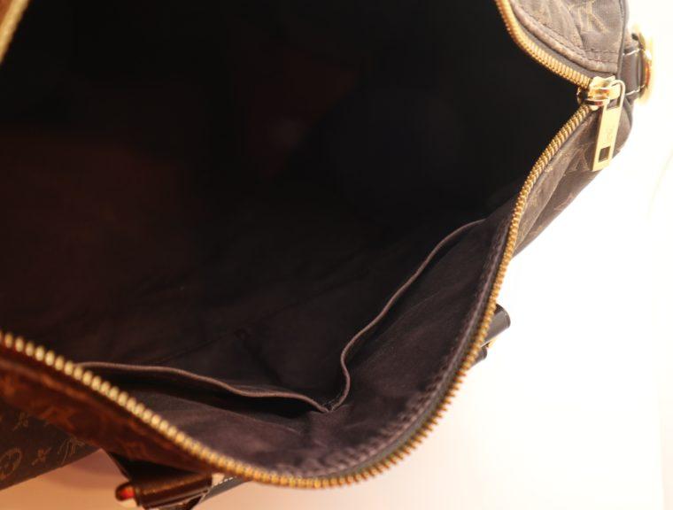 Louis Vuitton Tasche Speedy 30 band. Mini Lin schwarz-13859