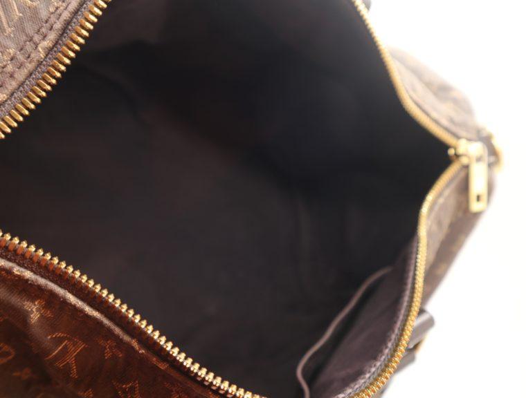 Louis Vuitton Tasche Speedy 30 band. Mini Lin schwarz-13862
