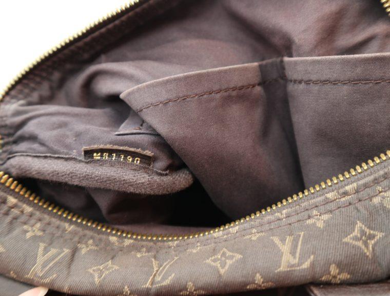 Louis Vuitton Tasche Speedy 30 band. Mini Lin schwarz-13865