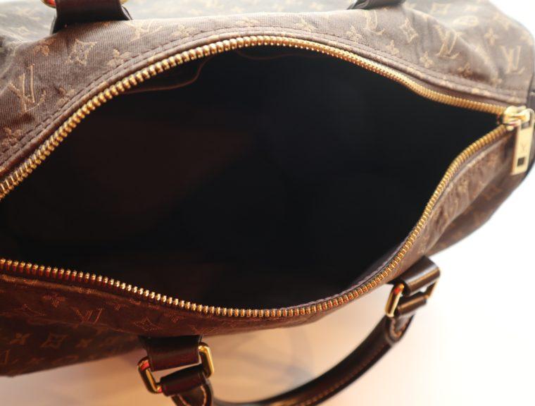 Louis Vuitton Tasche Speedy 30 band. Mini Lin schwarz-13863