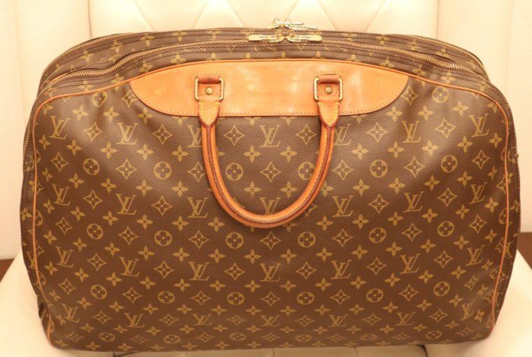 Louis Vuitton Koffer Alize 55 2 poches Monogram Canvas-13905