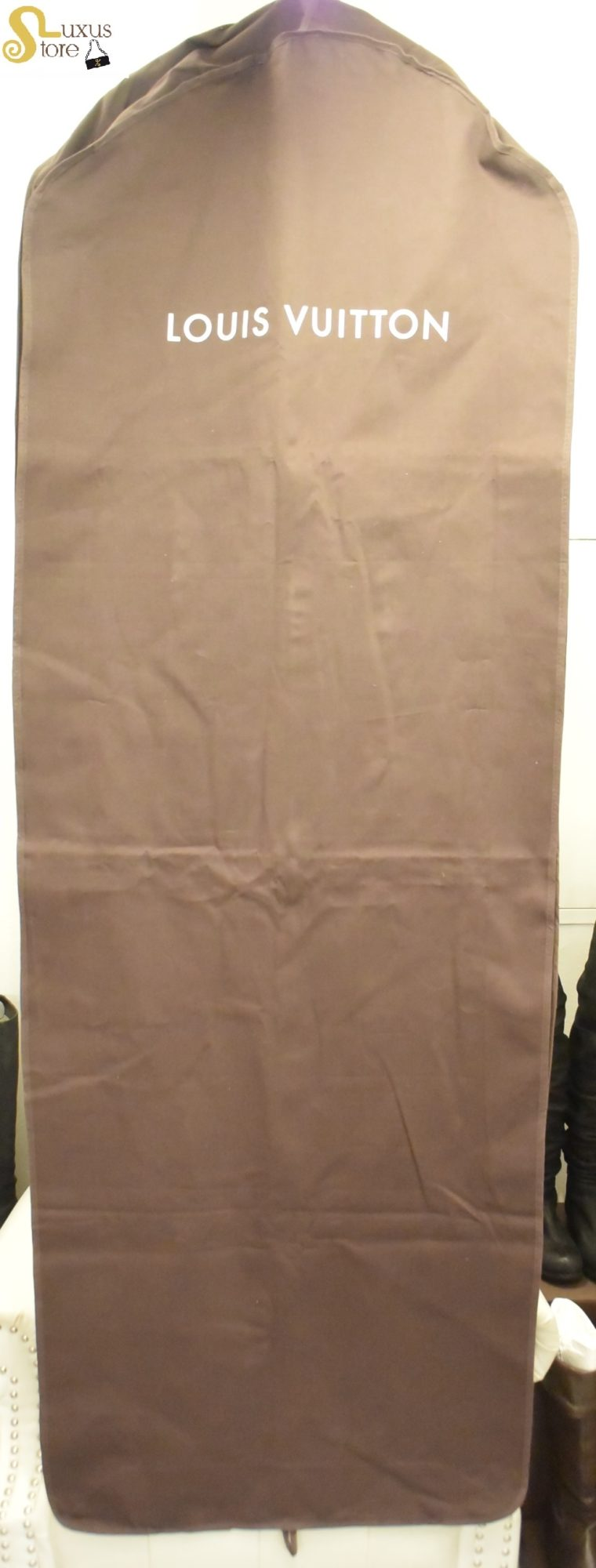 Louis Vuitton Kleiderhülle Kleidersack braun lang-14595