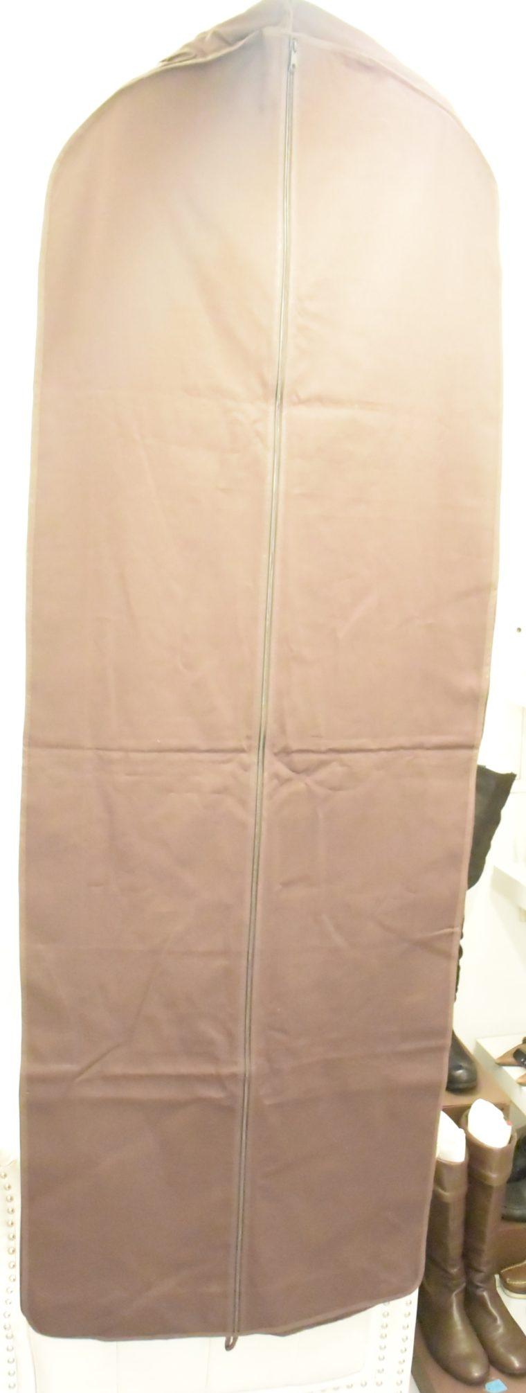 Louis Vuitton Kleiderhülle Kleidersack braun lang-14597