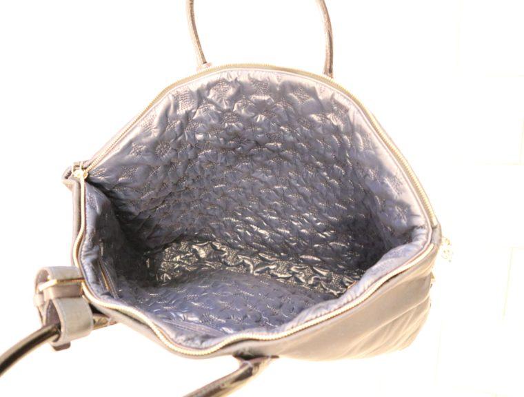 Louis Vuitton Tasche Lockit blau Satin XXL-14795