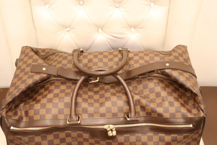 Louis Vuitton Koffer Trolley Reisetasche Eole 60 Damier ebene-14761