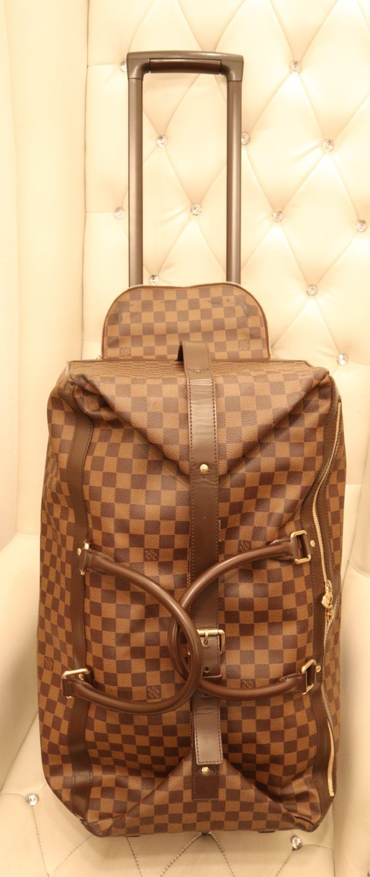 Louis Vuitton Koffer Trolley Reisetasche Eole 60 Damier ebene-14770