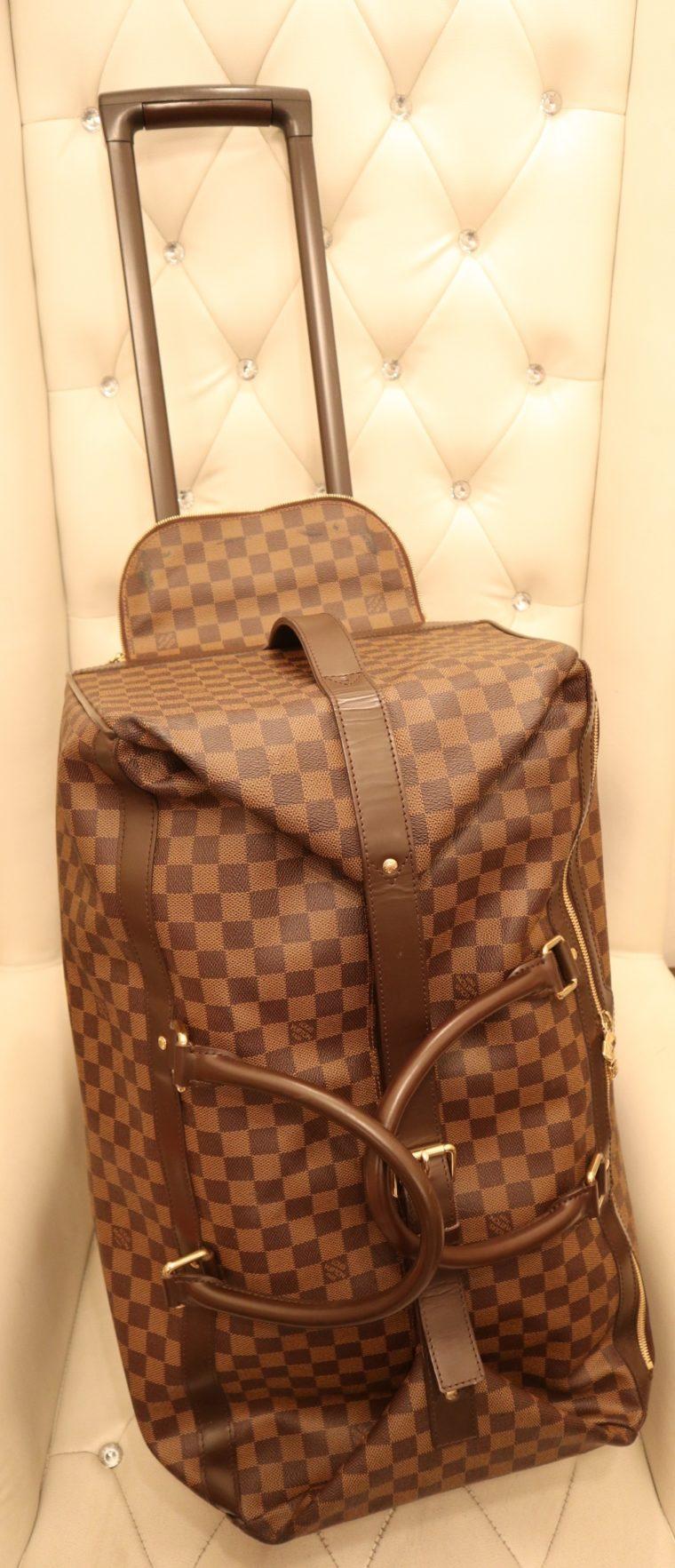 Louis Vuitton Koffer Trolley Reisetasche Eole 60 Damier ebene-0
