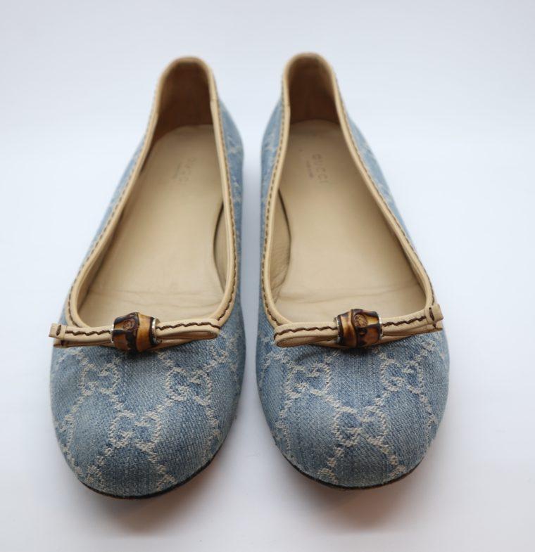 Gucci Schuhe Ballerinas blau 40-14874