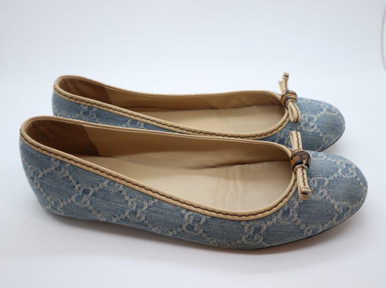 Gucci Schuhe Ballerinas blau 40-14872