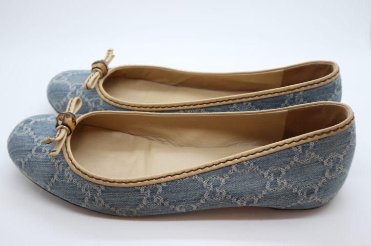 Gucci Schuhe Ballerinas blau 40-14873
