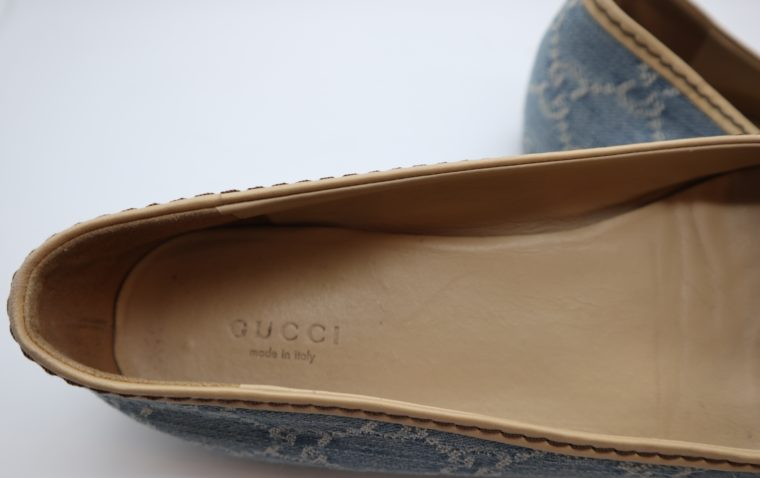 Gucci Schuhe Ballerinas blau 40-14875