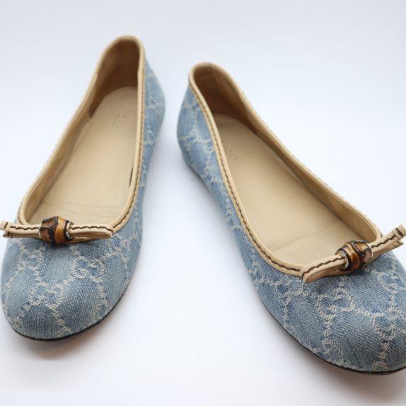 Gucci Schuhe Ballerinas blau 40