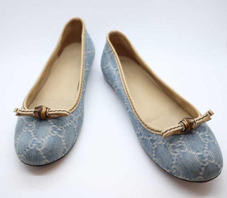 Gucci Schuhe Ballerinas blau 40-0