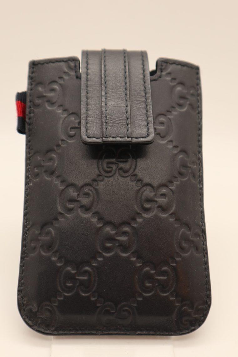Gucci Handyetui schwarz-0