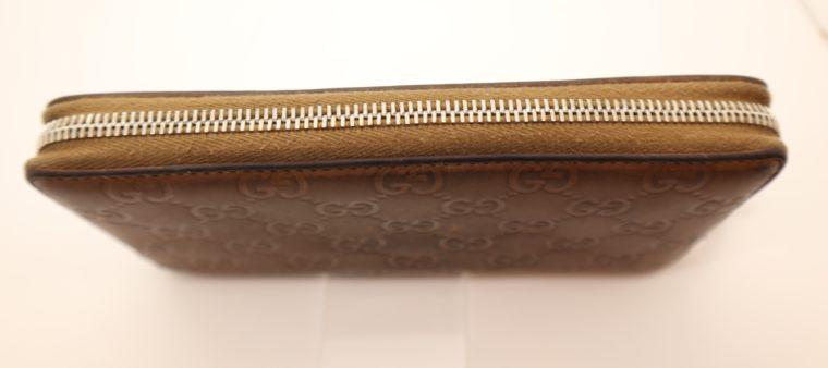 Gucci Geldbörse Leder braun -14882